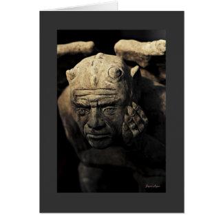 Gargoyle, Art Photography (colour), template