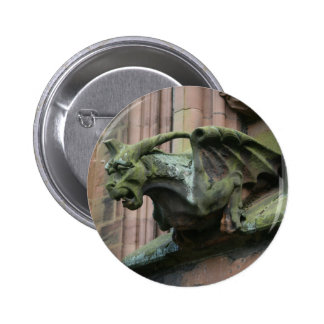 gargoyle badge button