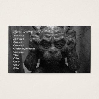 Gargoyle Business Card
