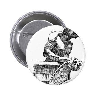 Gargoyle Button