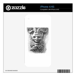 Gargoyle Calcomanía Para El iPhone 4