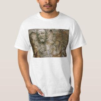 Gargoyle Carving on Stone Tee Shirt