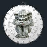 """Gargoyle Dartboard<br><div class=""""desc"""">Throw darts with Gothic style... </div>"""