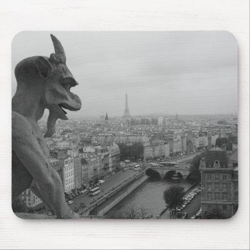 Gargoyle de Notre Dame Alfombrilla De Ratones