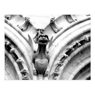 Gargoyle de Notre Dame Postal