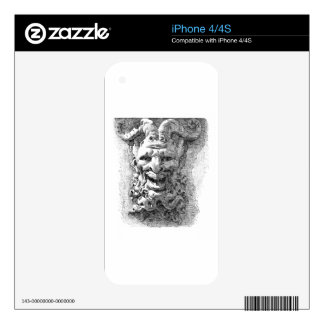 Gargoyle Decal For iPhone 4