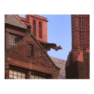 Gargoyle del parque de Ginter Postal
