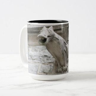 Gargoyle Design 1 Two-Tone Coffee Mug
