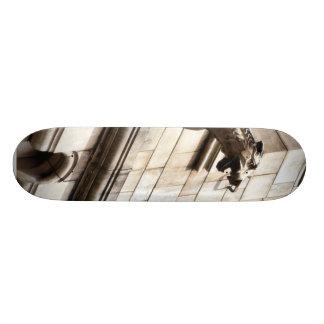 Gargoyle en el museo británico de la historia natu patineta personalizada