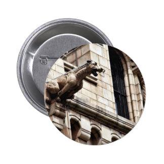 Gargoyle en el museo británico de la historia natu pins