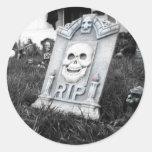 Gargoyle Gaurd Classic Round Sticker