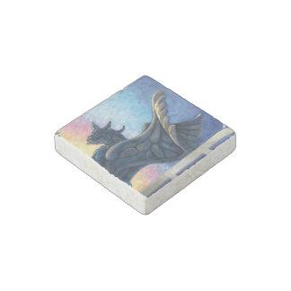 Gargoyle Guardian Stone Magnet