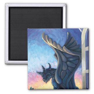 Gargoyle Guardian Magnet