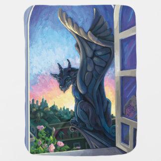 Gargoyle Guardian Stroller Blanket