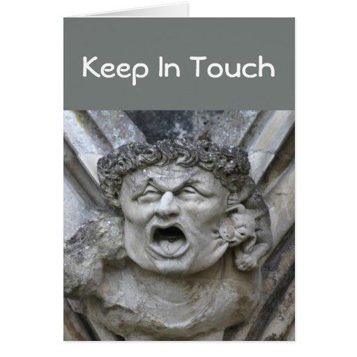 Gargoyle in-touch card