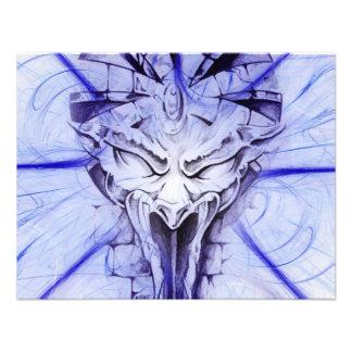 Gargoyle Custom Invitation