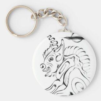 Gargoyle Keychain