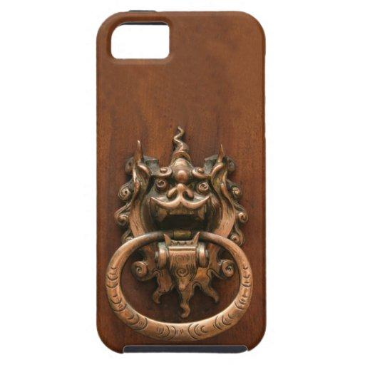 Gargoyle Knocker iPhone 5 Covers