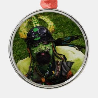 Gargoyle Metal Ornament