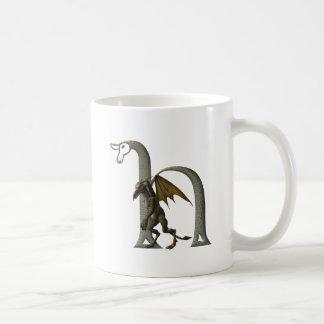 Gargoyle Monogram H Coffee Mug