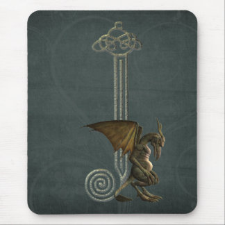 Gargoyle Monogram J Mouse Pad