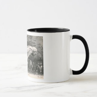 Gargoyle, Notre Dame, Paris, France Vintage Mug