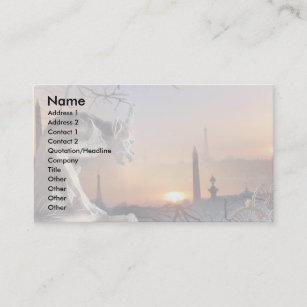 Gargoyle Of Notre Dame Business Card