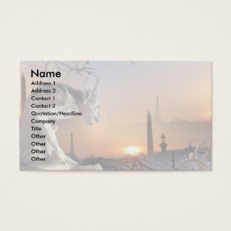 Gargoyle of Notre-Dame Business Card