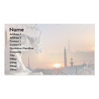 Gargoyle of Notre-Dame Double-Sided Standard Business Cards (Pack Of 100)