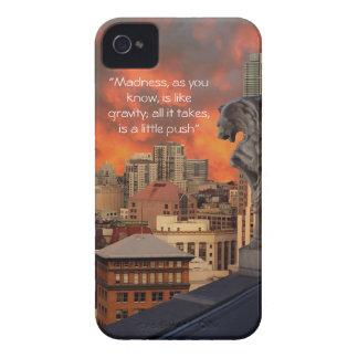 Gargoyle on ledge Case-Mate iPhone 4 case