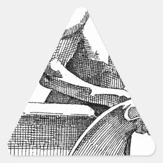 Gargoyle Pegatina Triangular