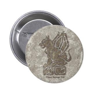 Gargoyle Chapa Redonda 5 Cm