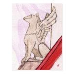 gargoyle post card