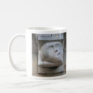 Gargoyle pulling faces mug