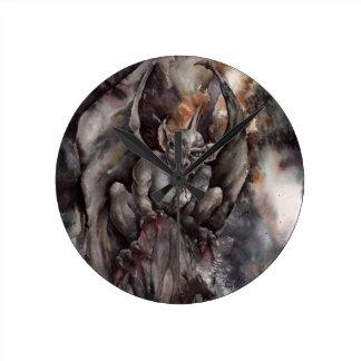 Gargoyle Reloj Redondo Mediano