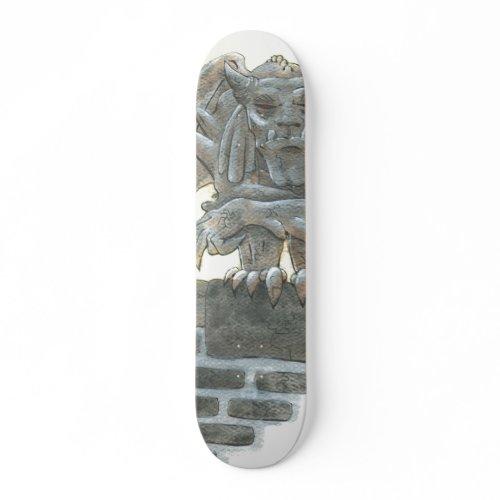 Gargoyle skateboard