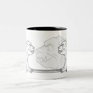 Gargoyle Sketch Mug