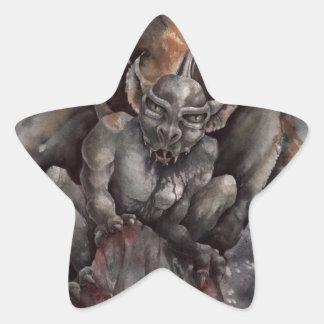 Gargoyle Star Sticker