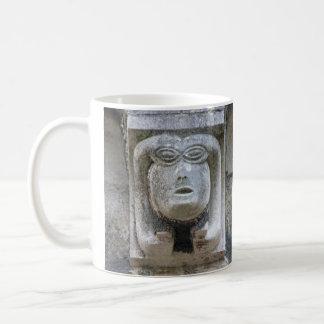 Gargoyle two-faces mug