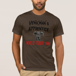 gargoyle_winged_ram, Venkman's, World Tour 1991... T-Shirt