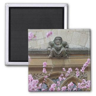 Gargoyle with blossom magnet