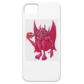 Gargoyle with Hamburger iPhone SE/5/5s Case