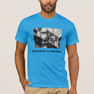 Gargoyles and the law T-Shirt