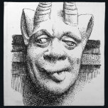 """Gargoyles Cloth Napkin<br><div class=""""desc"""">&#39;Gods and Demons&#39; beautiful images from legendary artists</div>"""