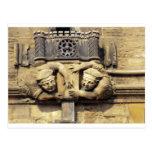 Gargoyles de Brasenose Tarjetas Postales