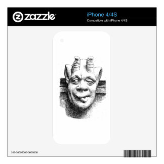 Gargoyles Decal For The iPhone 4S