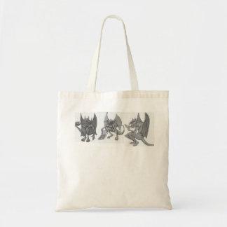Gargoyles Eating Junk Food Tote Bag