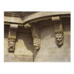 Gargoyles en el puente de Pont Neuf en París, Fran Postal