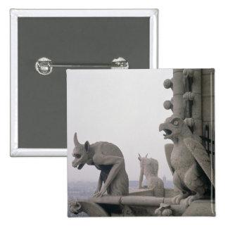 Gargoyles en la barandilla del grande pin
