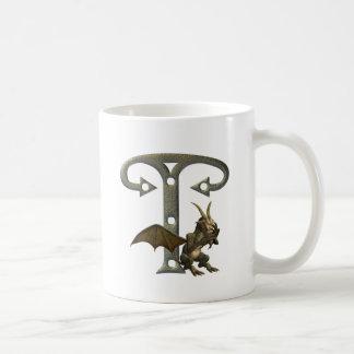 Gargoyles Monogram T Coffee Mug